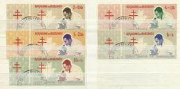 Burundi 1965, Lotta Contro La Tubercolosi (o), Serie Completa - Burundi