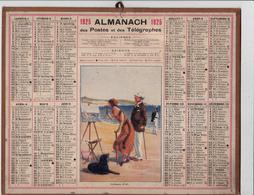 CALENDRIER ALMANACH D' EPOQUE Année 1925 Format 21 X 26 Complet  Carte De La Haute Garonne 31 - Calendriers