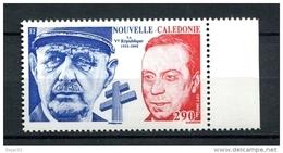 Thème Général De Gaulle - NOUVELLE-CALEDONIE - Yvert 1054 Neuf XXX - De Gaulle (General)