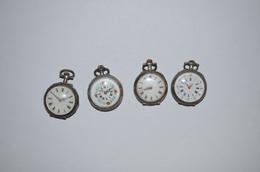 1 Lot De 4 Montres De Col - Watches: Old