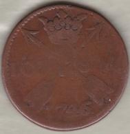 Sweden. 1 Öre 1746/5 . Frederick I .KM# 416.1 - Suède