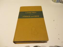 G.WARD Und Prince  FÜHRER  Und  DUCE - 5. Zeit Der Weltkriege