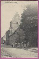 AK Pommiers   L Eglise Lamourex,edit. Soissons,Feldpost,1.WK - France