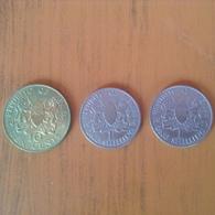 Kenya. 1 Shilling 1969 /1973.  10 Cents 1978 - Kenya