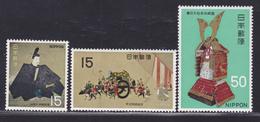 JAPON N°  915 à 917 ** MNH Neufs Sans Charnière, TB (D5114) Trésor Nationaux, Période Kamakura - Ungebraucht
