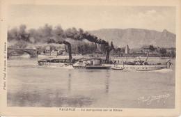 CPA Valence - La Navigation Sur Le Rhône - Bateau à Vapeur (33234) - Valence