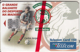 MADEIRA(PORTUGAL) - Club Sport Maritimo(150 Units), Tirage 31500, 07/98, Mint - Phonecards