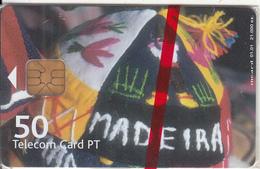 MADEIRA(PORTUGAL) - Santana, Tirage 21000, 01/01, Mint - Télécartes
