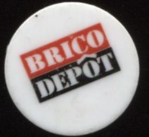 JETON DE CADDIE BRICO DEPOT - Trolley Token/Shopping Trolley Chip