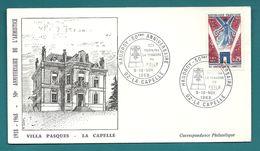 Aisne - La Capelle. Haudroy - 50e Anniversaire. POILU / WW1. 1968 - Marcofilie (Brieven)