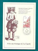Aisne - La Capelle. Foire Aux Fromages.  1983. Type A9 - Marcofilie (Brieven)
