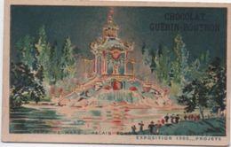 Chromo / Chocolat Guérin Boutron /Palais De Verre  ( Projet)/  Exposition 1900/ PARIS /Vers1900   IMA329 - Guérin-Boutron