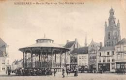 ROESELARE - Groote Markt En Sint-Michiel's Toren - Roeselare