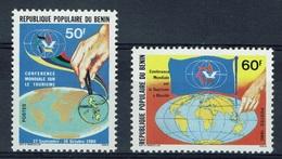 Benin, Tourism Congress, Manila, 1980, MNH VF  A Pair - Benin - Dahomey (1960-...)