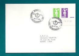 Aisne - Folembray. Centre Mobilisateur. 287 - Postmark Collection (Covers)
