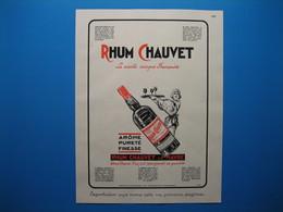 (1931) Importateurs De Rhums Au Havre : CHAUVET -- JEAN BOIVIN & Cie -- A. OLIER - Non Classés