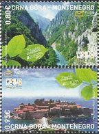 CG 2012 EUROPA CEPT, CRNA GORA MONTENEGRO, 1 X 2v, MNH - Europa-CEPT