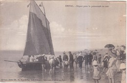 80 - Onival Départ Pour La Promenade En Mer Non-circulée - Onival