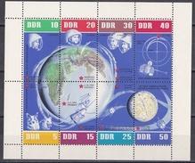 Dn_ DDR - Mi.Nr. 926 - 933 Kleinbogen - Postfrisch MNH - Rechts Nicht Durchgezähnt - DDR
