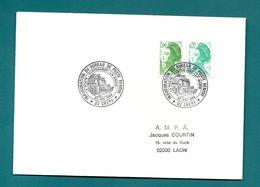 Aisne - Crepy - Inauguration Du Bureau De Poste Rénové. 1989 - Marcofilie (Brieven)