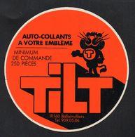 TILT 91160 BALLAINVILLIERS  - Autocollant  - Ref: 738 - Stickers