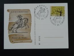Carte Journée Du Timbre Luxembourg 1962 - Tarjetas Conmemorativas