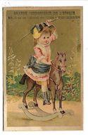 CHROMO - Grand Cordonnerie De L'Epoque - Vincennes - Enfant Sur Cheval à Bascule - Chromos