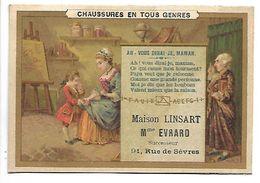 CHROMO - Chaussures En Tous Genres - Maison LINSART - Ah ! Vous Dirai-je Maman - Chromos