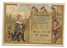 CHROMO - Chaussures En Tous Genres - Maison LINSART - La Tour, Prends Garde ! - Chromos