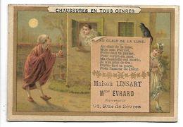 CHROMO - Chaussures En Tous Genres - Maison LINSART - Au Clair De La Lune - Chromos