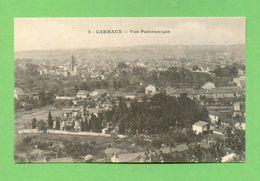 CPA FRANCE 81  ~  CARMAUX  ~  2  Vue Panoramique  ( Cahuzac )  2 Scans - Carmaux