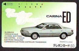 Télécarte JAPON * TOYOTA (1332)  * Phonecard JAPAN * VOITURE * Auto CAR * TELEFONKARTE * - Voitures