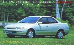 Télécarte JAPON * TOYOTA (1335)  * Phonecard JAPAN * VOITURE * Auto CAR * TELEFONKARTE * - Voitures