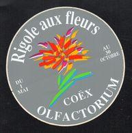 RIGOLE AUX FLEURS OLFACTORIUM COEX - Autocollant  - Ref: 744 - Stickers