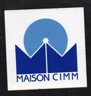 MAISON CIMM  - Autocollant  - Ref: 746 - Stickers