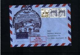 Deutschland / Germany 1978 1.Atlantik Ueberquerung In Ost-West Richtung Interessanten Brief - Covers & Documents