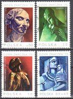 Poland 1975 - Stamp Day. Xawery Dunikowski - Mi 2409-12 - Used - Gebruikt