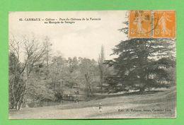 CPA FRANCE 81  ~  CARMAUX  ~  65  Cèdres - Parc Du Château De La Verrerie Aux Marquis De Solages (Cahuzac 1923)  2 Scans - Carmaux