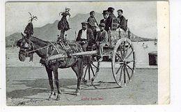 SICILIA CARRO SICILIANO CARRETTO 1913 - Costumes