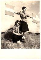 Schweizerische Pfadfinderinnen - Eclaireuses Suisses - Hilfreiches Bienli - Morse Im Gelände  Exercice De Morse  Schweiz - Scoutisme