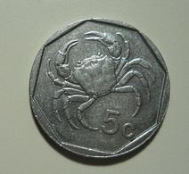 Malta 5 Cents 1991 - Malta