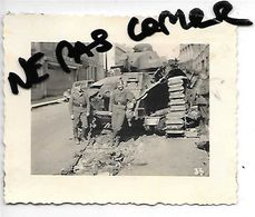 BEAUMONT TANK  CHAR BEARN  SOLDATS ALLEMANDS JUIN 1940 - Beaumont