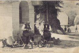 Cordonniers Ambulants En Savoie               Belle Carte Trés Bon état Dos Divisé écrite - Annecy