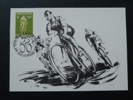 Carte Maximum Card Cyclisme Cycling Tour De France Luxembourg 1990 - Cartes Maximum