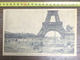ANNEES 20/30 PARIS LE PONT D IENA QUE L ON VIENT D ELARGIR POUR L EXPOSITION 1937 - Vieux Papiers