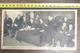 ANNEES 20/30 LE CONGRES DES CONSEILLERS DU COMMERCE EXTERIEUR A LILLE THIRIEZ - Vieux Papiers