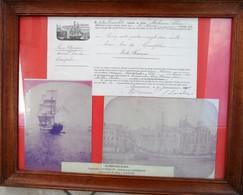 1890 - Bateau Alphonse Elisa - Bois De Campêche - Le Havre - Bateaux