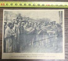ANNEES 20/30 GREVE AUX USINES PANHARD LE RAVITAILLEMENT DES OUVRIERS - Vieux Papiers