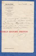 Document Ancien - REIMS - Certificat Docteur Henry Brissart - Enfant Atteint D'aucune Maladie - 1940 Occupation Ww2 - Documents Historiques