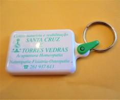 SHOPPING CART TOKEN / JETON DE CADDIE - CENTRO NATURISTA E REABILITAÇÃO SANTA CRUZ E TORRES VEDRAS / PORTUGAL / 01 - Trolley Token/Shopping Trolley Chip